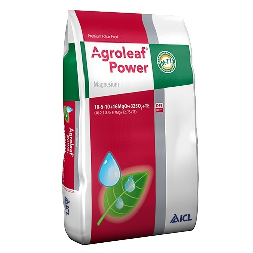 Ingrasamant Foliar Agroleaf Power Magneziu 10+05+10+16Mgo+32So3+Me+Biostimulatori 2 Kg
