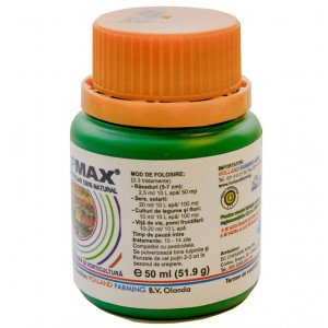 Ingrasamant foliar biostimulator Cropmax 0.50 ml