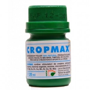 Ingrasamant foliar biostimulator Cropmax 20 ml